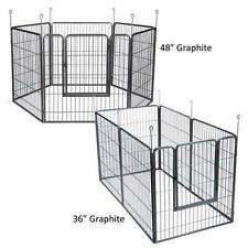 """EMPIRE EX DOG PENS Heavy Duty Extra Tough Exercise Dogs Pets Pens  36"""" or 48"""""""