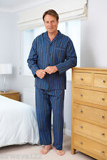 Mens Brushed Cotton Pyjamas Two Designs Six Sizes