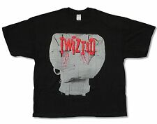 """TWIZTID """"STRAIGHT JACKET"""" BLACK T-SHIRT NEW OFFICIAL ADULT ICP PSYCHOPATHIC"""