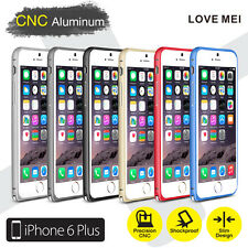 LOVE MEI Ultra Slim CNC Aluminum Metal Bumper Case iPhone 6 Plus/6s Plus 5.5""