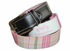 Equine Couture Mackenzie Belt - Pink or Blue Paid - Different Sizes - SALE!