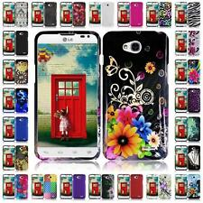 For LG Ultimate 2 L41C Hard Snap on Two Piece Cover Case