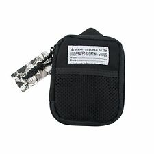 UNDEFEATED FALKLAND MULTI CASE WALLET BAG KEYCHAIN BLACK UNDFTD LA MINI BACKPACK