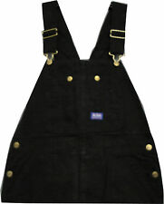 Walls Big Smith Zip Fly Washed Black Duck Bib Overall Big and Tall Style  B94023