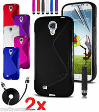 2x Sline Case Case Cover & Micro USB - for Samsung Galaxy S3 S4 S5