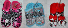 Hello Kitty Women's Graphic Bootie Slippers Shoes Color & size Choices **