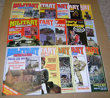 """MULTI-LIST SELECTION OF """"MILITARY MODELLING MAGAZINE""""  FROM YEARS 1984 / 1985"""