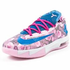 NIKE YOUTH KD VI GS AUNT PEARL LIGHT ARCTIC PINK PHOTO BLUE 599477 602 6A4