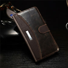 Magnetic Flip Luxury Leather Wallet Case Cover for Samsung Galaxy Note 4 N910