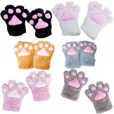 Fluffy Bear/Cat Plush Paw/Claw Glove-Novelty Halloween Costume Accessories/Prop