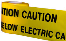 CAUTION ELECTRIC CABLE BELOW 365M UNDERGROUND WARNING TAPE
