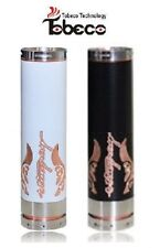 Tobeco * Stingray X Mechanical MOD * RDA / RBA 22mm White or Black - US Seller!!