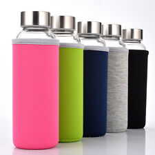 Portable  Water Cup Eco Friendly Glass Water Bottle New Shatterproof  JC0026