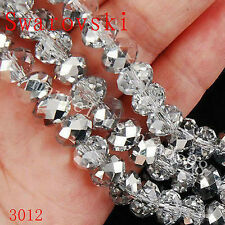 Wholesale Swarovski Crystal Gemstone Loose Beads -Silver