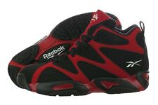 Reebok Kamikaze I Mid V60364 Red Black Nubuck Basketball Shoes Medium (D, M) Men