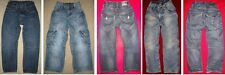 1pr H&M NEXT destroyed/holes DISTRESSED boys JEANS 5 6 INNER ADJUSTABLE WAIST 5T