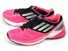 Adidas Adizero Tempo 6 W Breathable Running Sneakers Pink/White/Black M25620