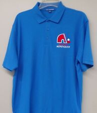 Quebec Nordiques NHL Hockey Embroidered Mens Polo Shirts S-4XL Avalanche New!