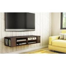 Wall Mounted Media Console TV Stand Center Entertainment Storage Furniture Flat