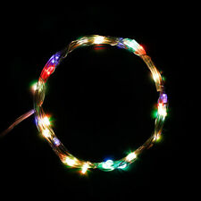 10ft 3m 30led AA Battery Operated Automatic Timer String Lights Copper Wire Xmas