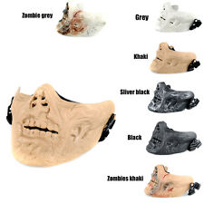 Tactical Military Half Face Mask Zombie Skull Skeleton Mask M05 Gear Costume