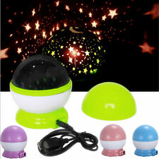 Rotating Sky Cosmos Star Night Romantic Projector Luminous Light Lamp Home Décor