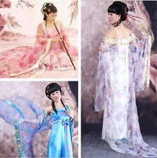 Fashio Chinese Women Ancient Infanta Dramaturgic Show Cosplay Robe Dress 5olour