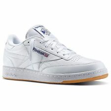 [J95377] REEBOK CLUB C R12 WHITE/BLUE/GUM MEN'S SIZE 8 TO 13 NIB