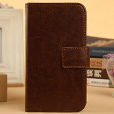 Accessory Flip PU Leather Case Cover Skin Protective For Sony Smartphone