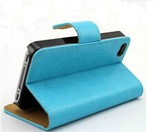C2 New Flip PU Wallet Card Leather Stand Cover Case Pouch for BLU Smart Phone