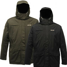 Regatta Mens Peters Parka Jacket insulated Waterproof Hydrafort Thermo Guard New