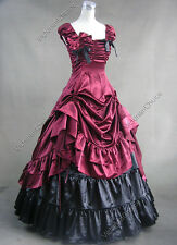 Victorian Dress Princess Ball Gown Reenactment Punk Adult Women Costume Punk 270