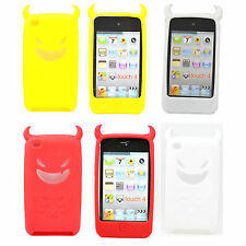 Fashion Skin Rubber Soft Phone Shell Case Cover For Apple iPod Touch 4 4TH 4Gen