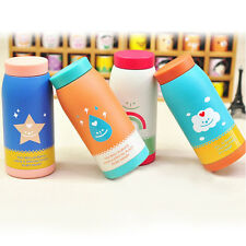 Kid Stainless Steel Vacuum Insulated Mug Flask Thermos Milk Water Tea Cup Bottle