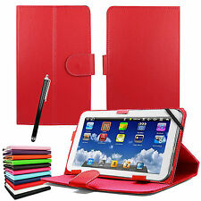 """New Universal Leather Stand Flip Cover For 9"""" - 10.1"""" Inch Tab Android Tablet PC"""