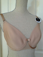 Chantelle bra Sublime Invisible Spacer NWT 3951 lined nude beige lace $80.00