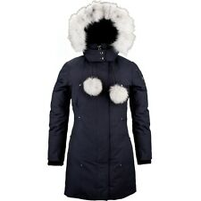 Moose Knuckles Stirling - Women - Navy - 100% Authentic