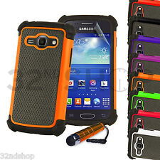 NEW SHOCK PROOF CASE COVER FITS SAMSUNG GALAXY ACE 3 S7270 SCREEN PROTECTOR