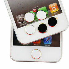 2 Pcs Home Button Stickers for Apple iPhone 5S 5C 4 4S New iPad Mini 2 3