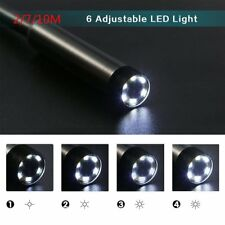 2m/7m/10m Waterproof 6 LED USB Endoscope Insprection Tube Camera 7MM Lens Mirror