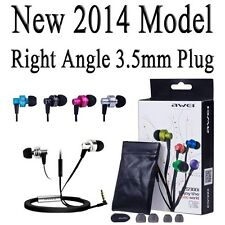 Awei ES-900i New Version BIG BASS Earbuds Headphone iPhone Mic SHIPPED FROM USA