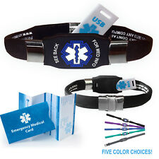The Elite USB™ Medical Alert ID Bracelet
