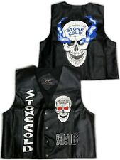 Stone Cold Steve Austin 3:16 Smoking Skull Vest WWF WWE New