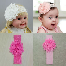 Girl Hair Toddler Headband Hairband Baby Infant Kid Flower Lace Bow Accessories