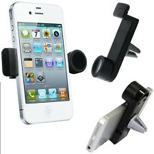 360°ROTATING IN CAR AIR VENT MOUNT HOLDER CRADLE STAND FOR VARIOUS MOBILE PHONES