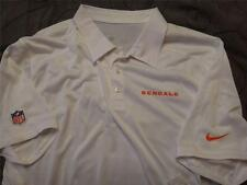 NIKE CINCINNATI BENGALS NFL FOOTBALL ON FIELD POLO SHIRT XL NWT $70.00