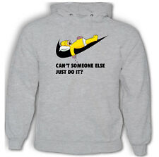 Can't Someone Else Just Do It? Funny Homer Simpson Hoodie Simpsons Dope Parody