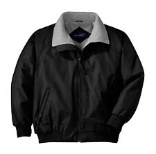 custom embroidered mens challenger water resistant fleece lined jacket small-6xl