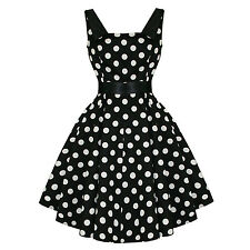 Hearts And Roses London Retro 50s Rockabilly Polka Dot Party Swing Prom Dress