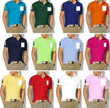 Adult E Short Sleeve Cotton Polo t-shirt - Men's  P1